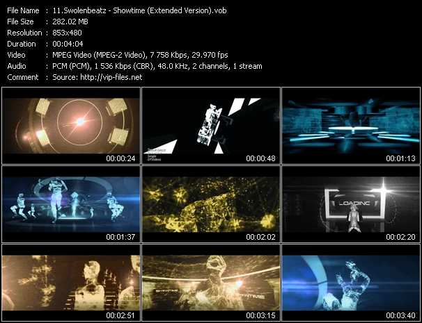download Swolenbeatz « Showtime (Extended Version) » video vob