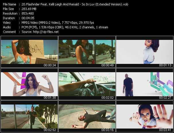 video So In Luv (Extended Version) screen