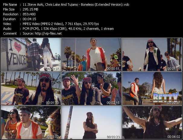 video Boneless (Extended Version) screen