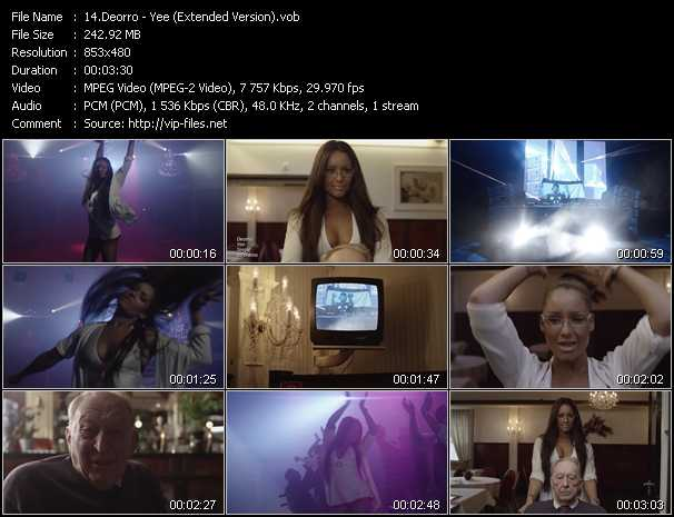 video Yee (Extended Version) screen