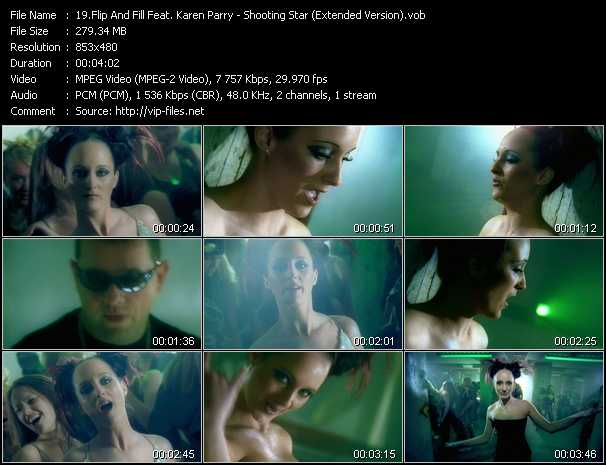 download Flip And Fill Feat. Karen Parry « Shooting Star (Extended Version) » video vob
