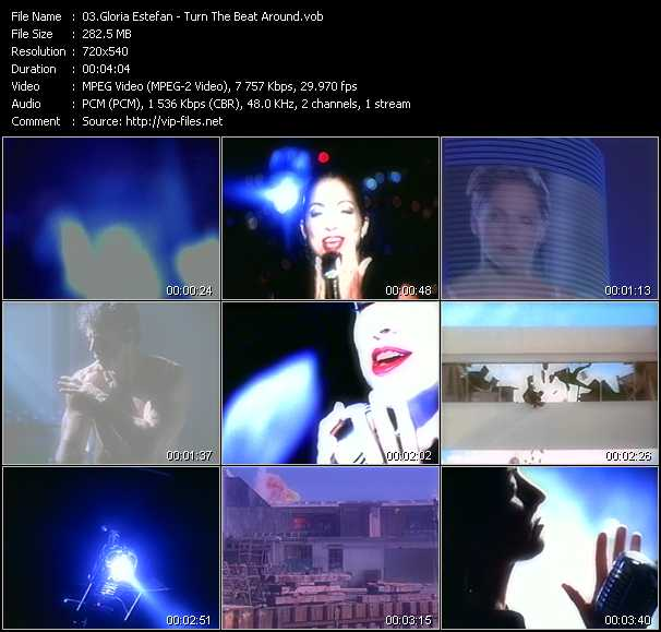 download Gloria Estefan « Turn The Beat Around » video vob