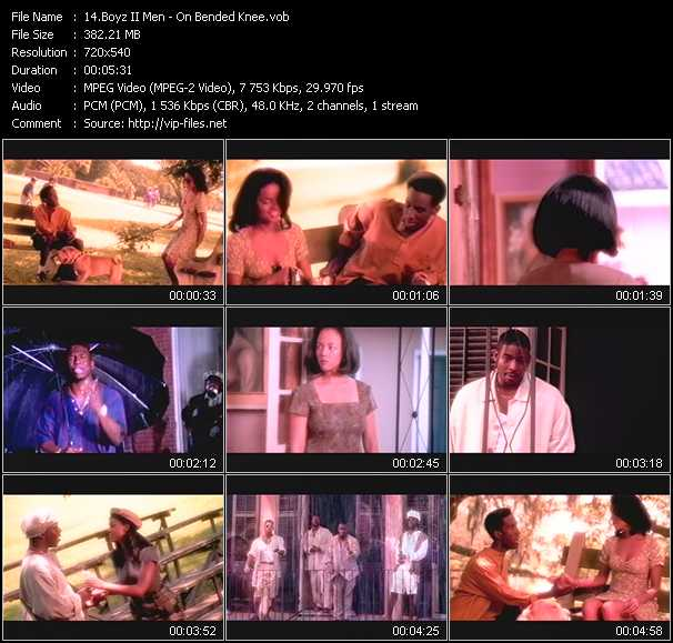 download Boyz II Men « On Bended Knee » video vob