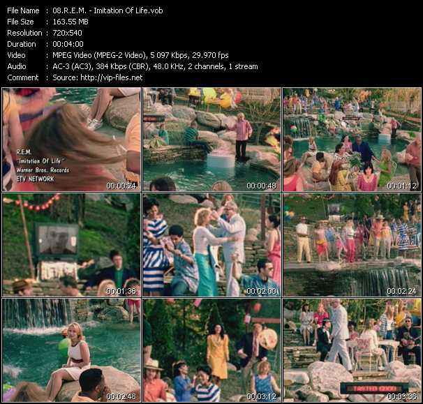 video Imitation Of Life screen