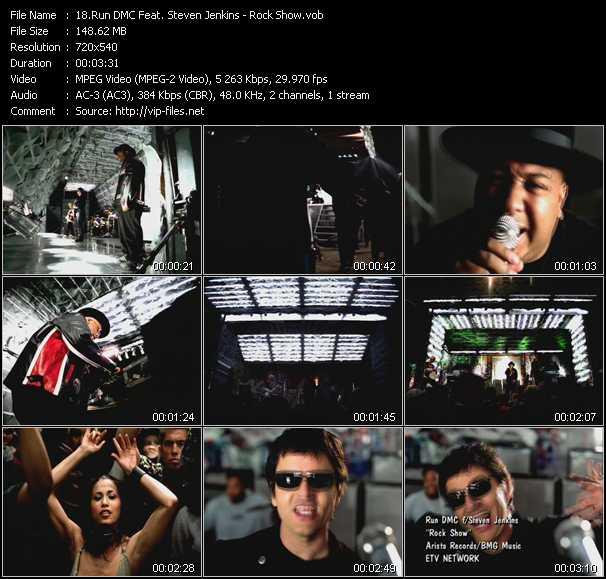 video Rock Show screen