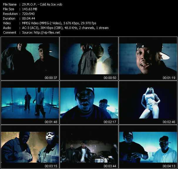 download M.O.P. « Cold As Ice » video vob