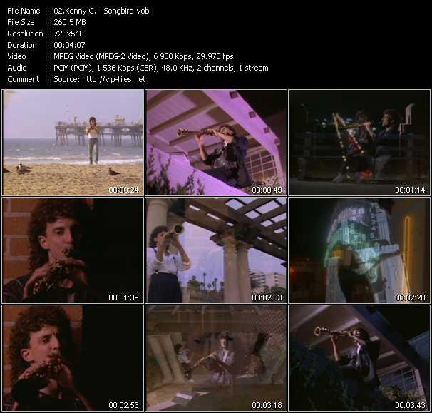 video Songbird screen