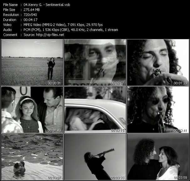 video Sentimental screen