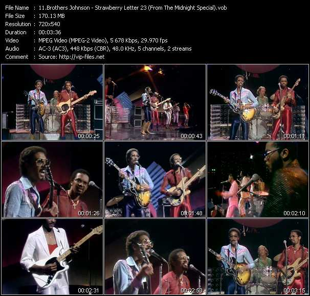 download Brothers Johnson « Strawberry Letter 23 (From The Midnight Special) » video vob