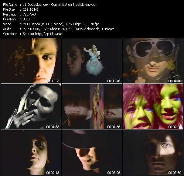 video Comminication Breakdown screen