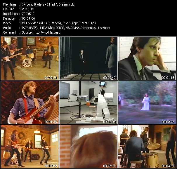 download Long Ryders « I Had A Dream » video vob