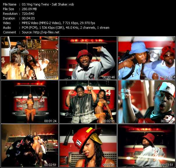 download Ying Yang Twins « Salt Shaker » video vob