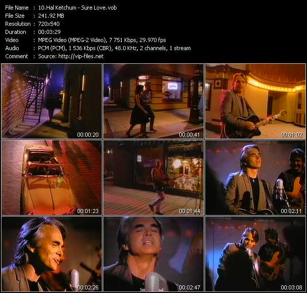 download Hal Ketchum « Sure Love » video vob
