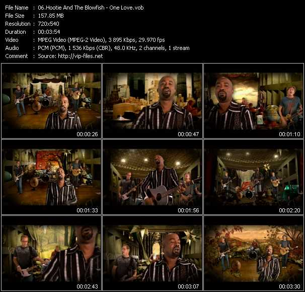 download Hootie And The Blowfish « One Love » video vob