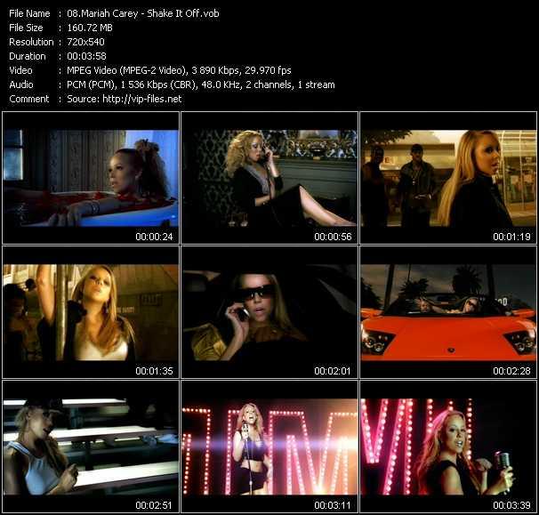 download Mariah Carey « Shake It Off » video vob