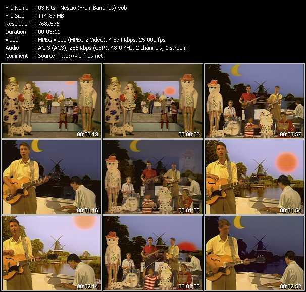 video Nescio (From Bananas) screen
