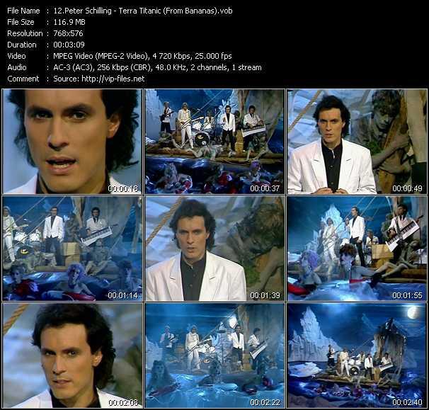 download Peter Schilling « Terra Titanic (From Bananas) » video vob