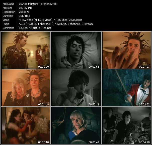 download Foo Fighters « Everlong » video vob