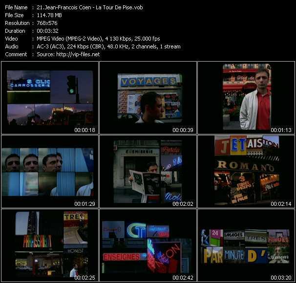 download Jean-Francois Coen « La Tour De Pise » video vob