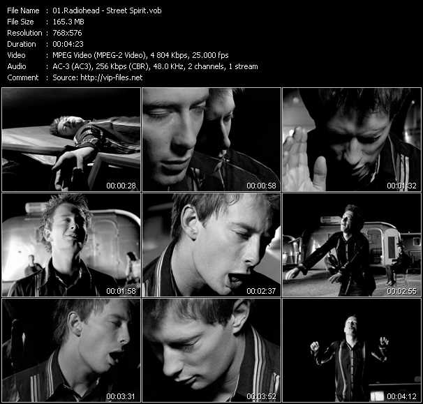 download Radiohead « Street Spirit » video vob