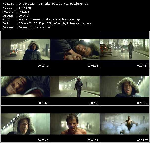 video Rabbit In Your Headlights screen