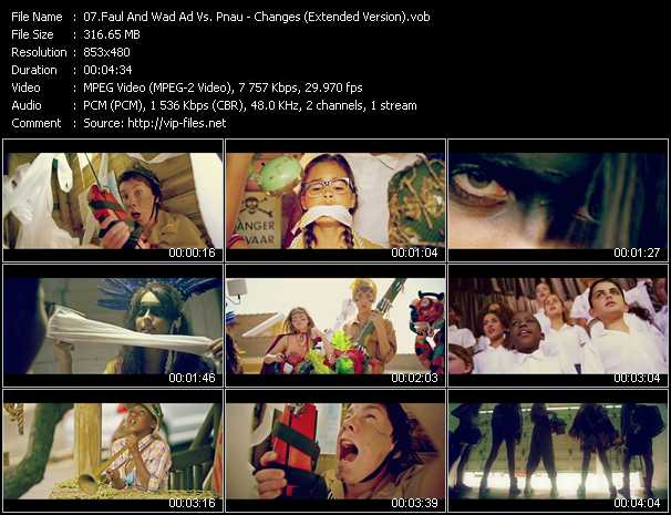 download Faul And Wad Ad Vs. Pnau « Changes (Extended Version) » video vob
