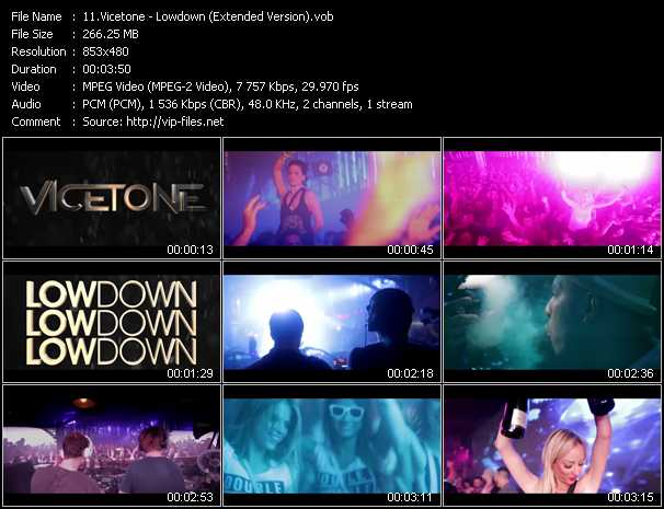 video Lowdown (Extended Version) screen