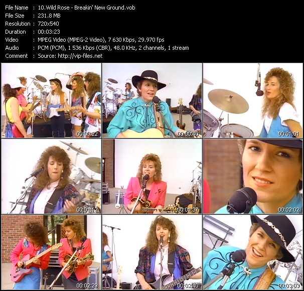 download Wild Rose « Breakin' New Ground » video vob