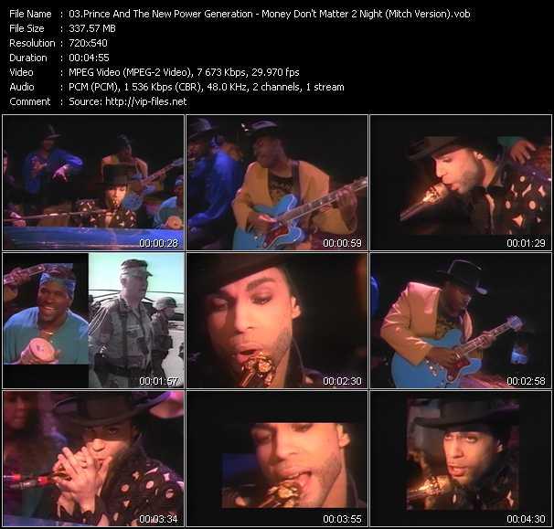 video Money Don't Matter 2 Night (Mitch Version) screen
