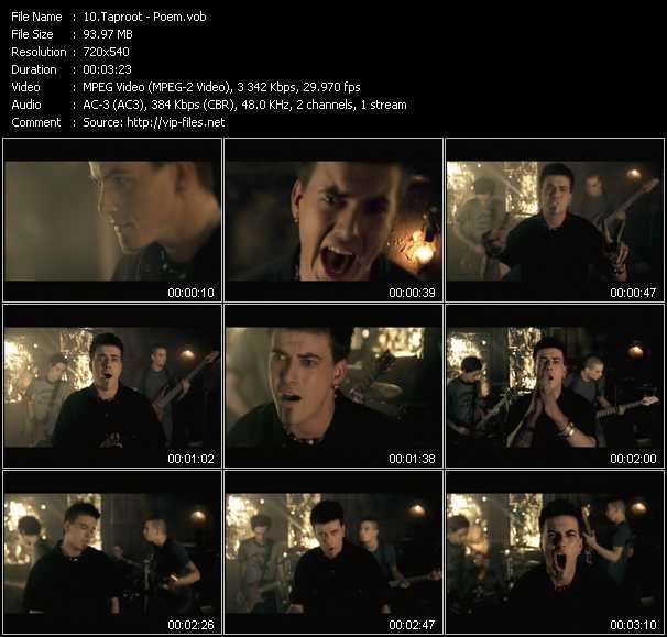 video Poem screen