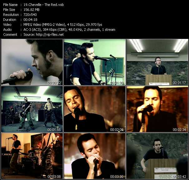 download Chevelle « The Red » video vob