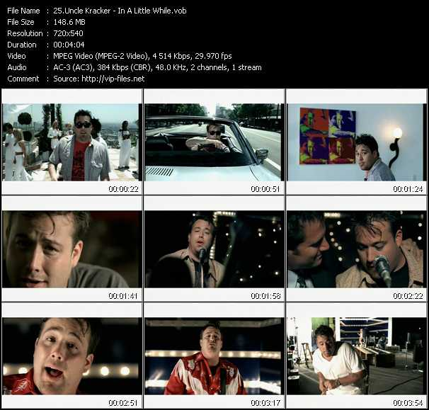 download Uncle Kracker « In A Little While » video vob