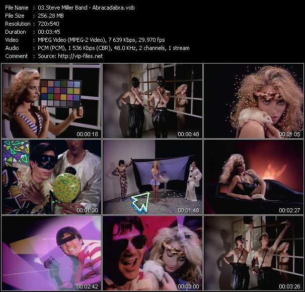 video Abracadabra screen