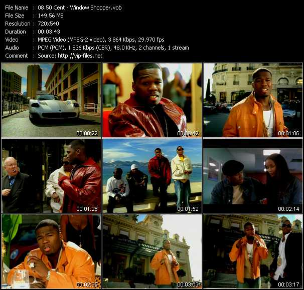 Nama: window shopper - 50 cent ( webclip) durasi: 3 menit 38 detik bitrate: 128 kbps upload date
