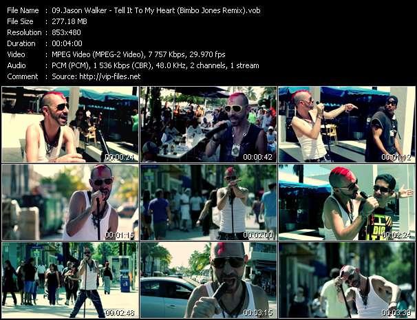 video Tell It To My Heart (Bimbo Jones Remix) screen