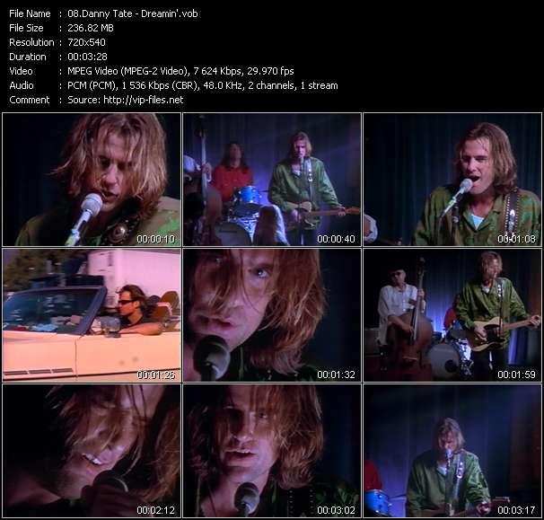 download Danny Tate « Dreamin' » video vob