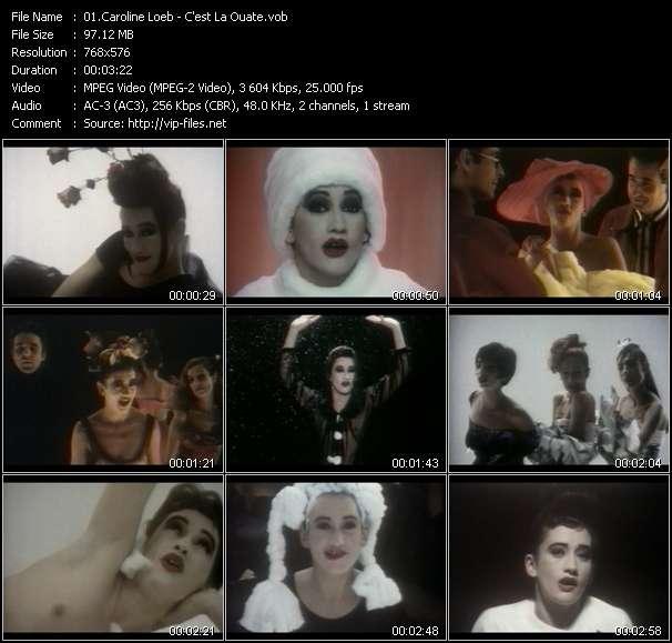download Caroline Loeb « C'est La Ouate » video vob