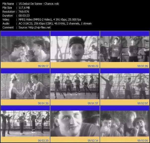 download Debut De Soiree « Chance » video vob