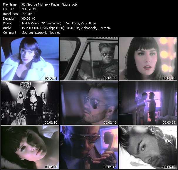 download George Michael « Father Figure » video vob