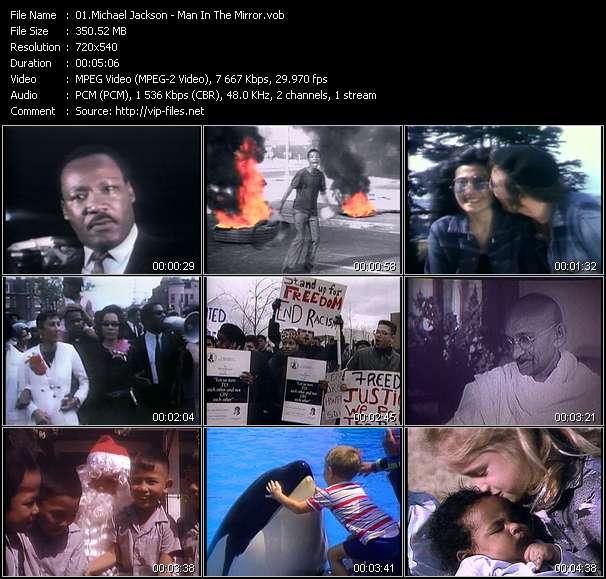 download Michael Jackson « Man In The Mirror » video vob