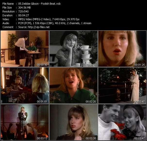 download Debbie Gibson « Foolish Beat » video vob