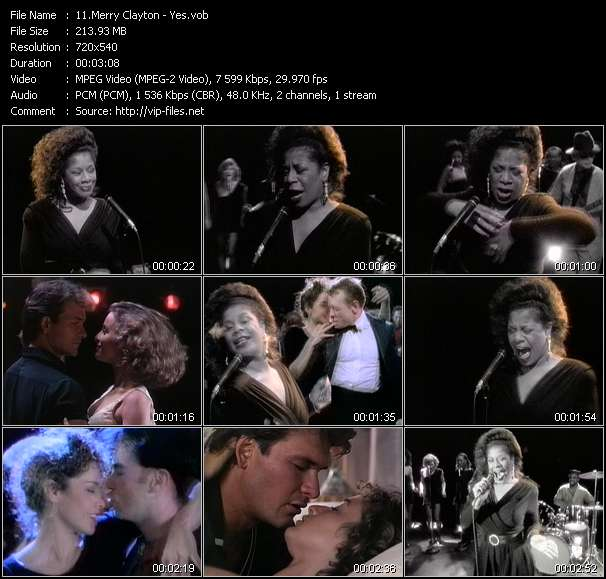 download Merry Clayton « Yes » video vob