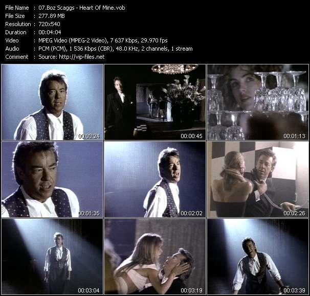 download Boz Scaggs « Heart Of Mine » video vob