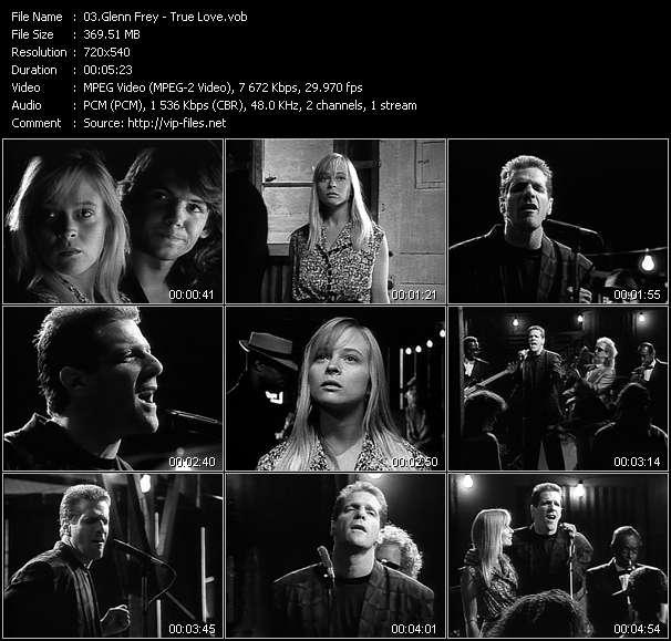 download Glenn Frey « True Love » video vob