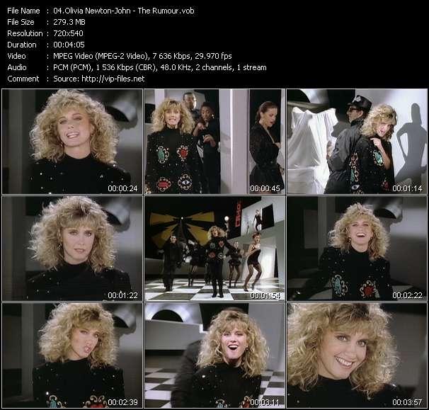 download Olivia Newton-John « The Rumour » video vob