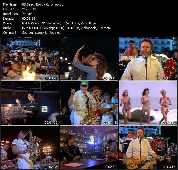 video Kokomo screen