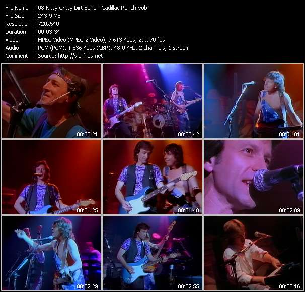 video Cadillac Ranch screen