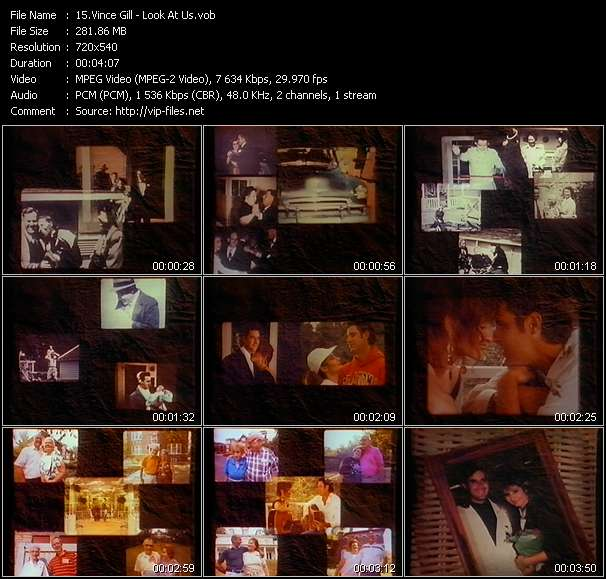 download Vince Gill « Look At Us » video vob