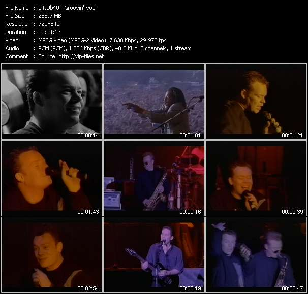 video Groovin' screen