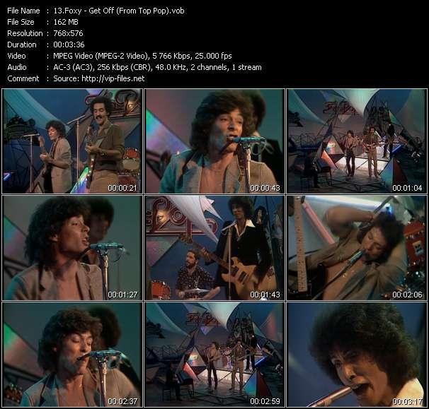 video Get Off (From Top Pop) screen
